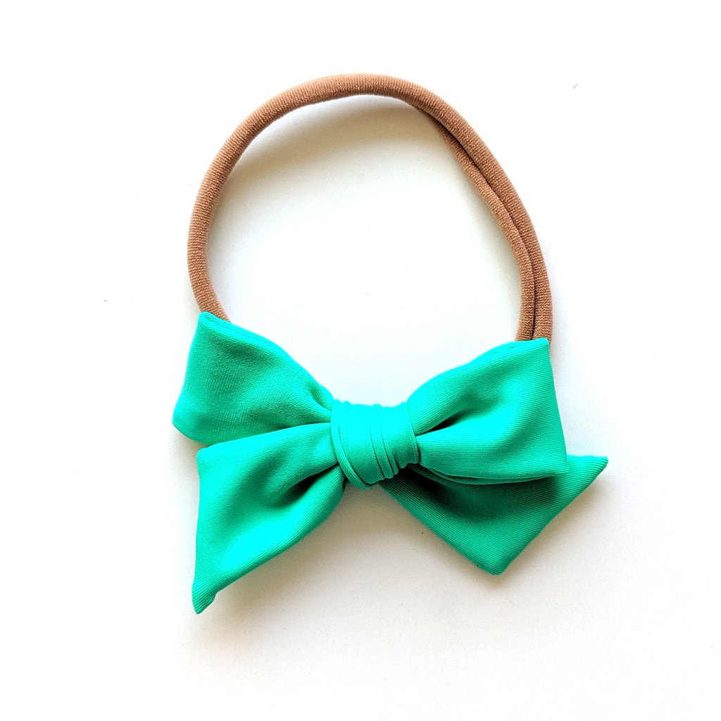 Aquamarine :: Mini Voyager Swim Bow