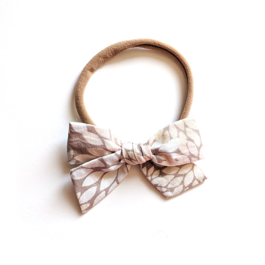 Autumn Floral :: Mini Voyager Bow