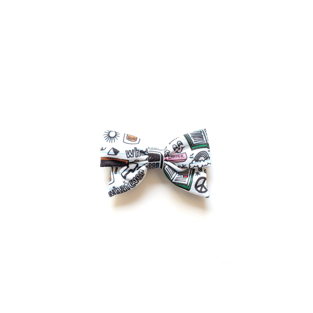 Back to School :: Mini Pioneer Bow