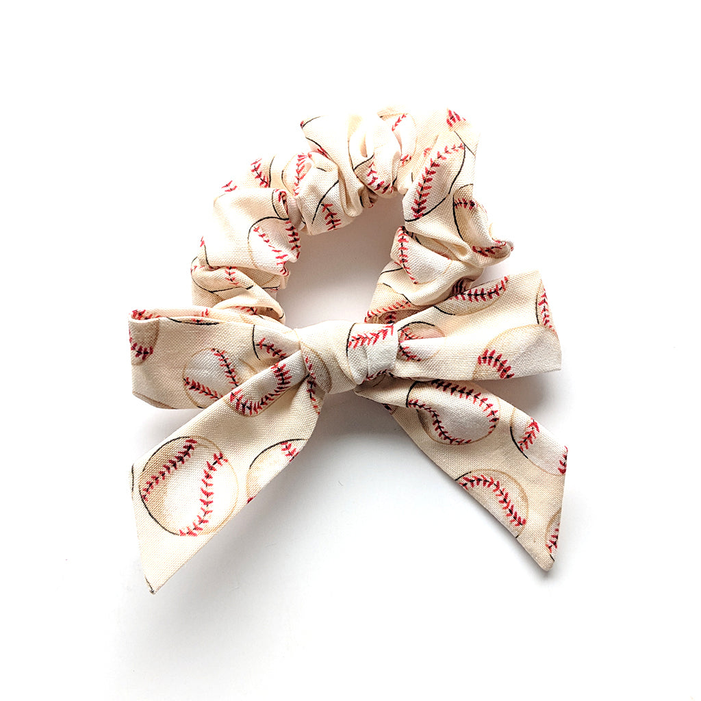 Baseball :: Explorer Scrunchie