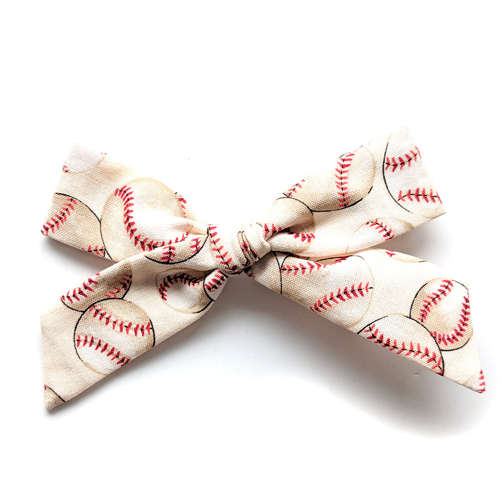 Baseball :: Oversized Explorer Bow