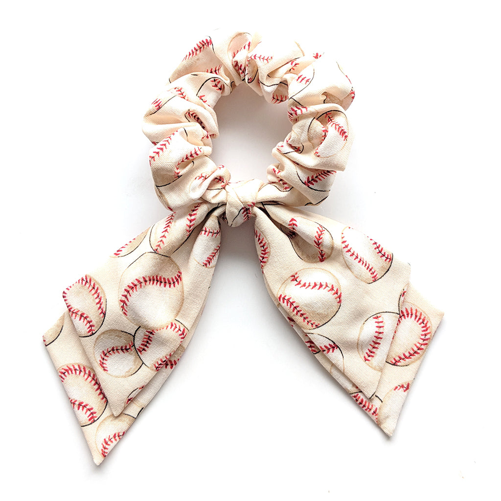 Baseball :: Pioneer Scrunchie