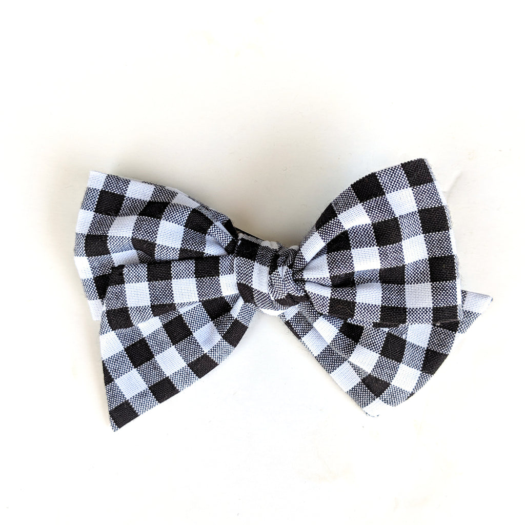 Basic Gingham :: Voyager Bow