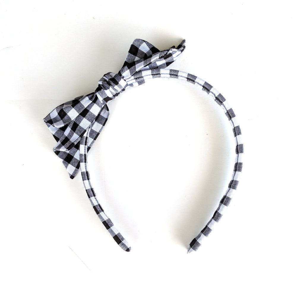 Basic Gingham :: Big Girl Headband