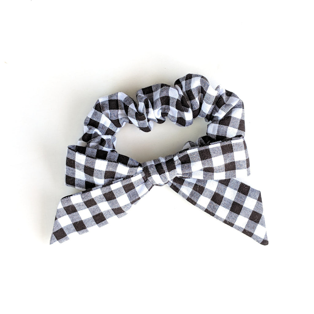 Basic Gingham :: Explorer Scrunchie