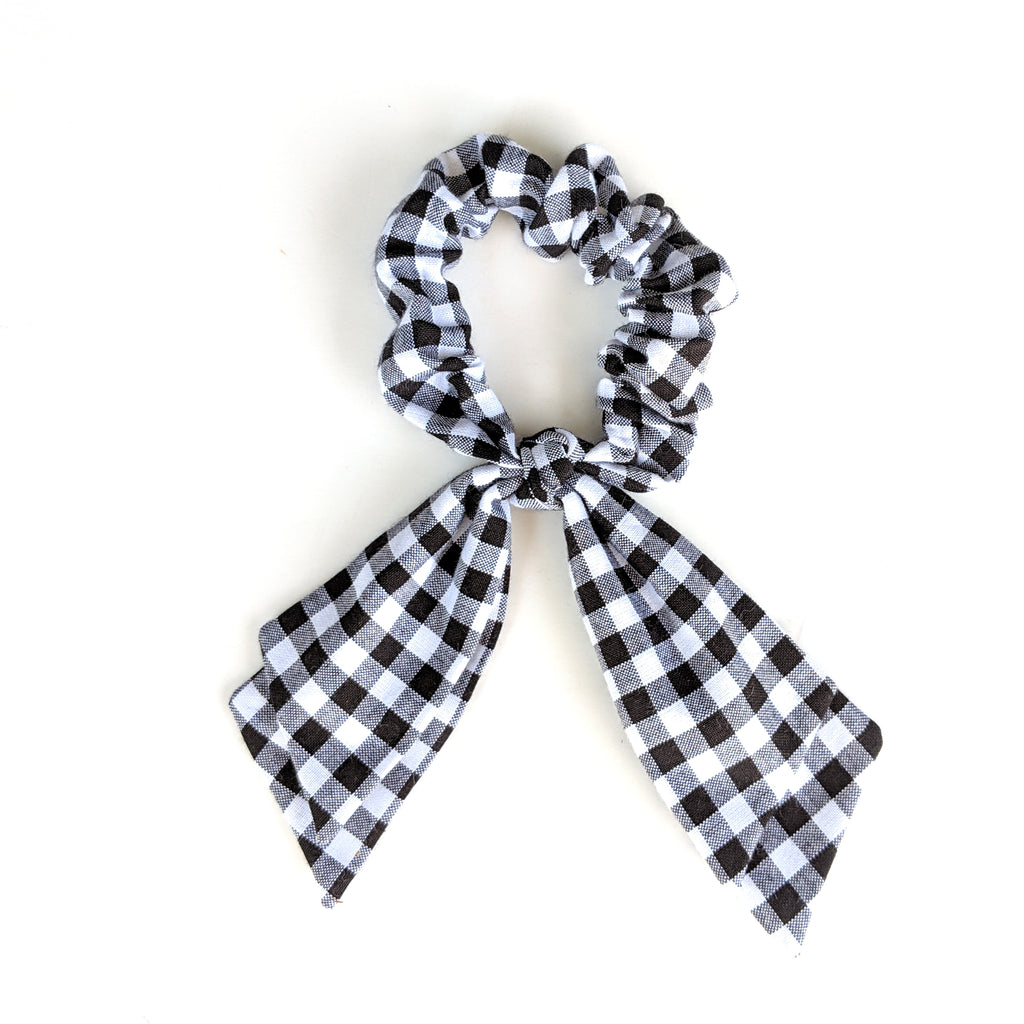 Basic Gingham :: Pioneer Scrunchie