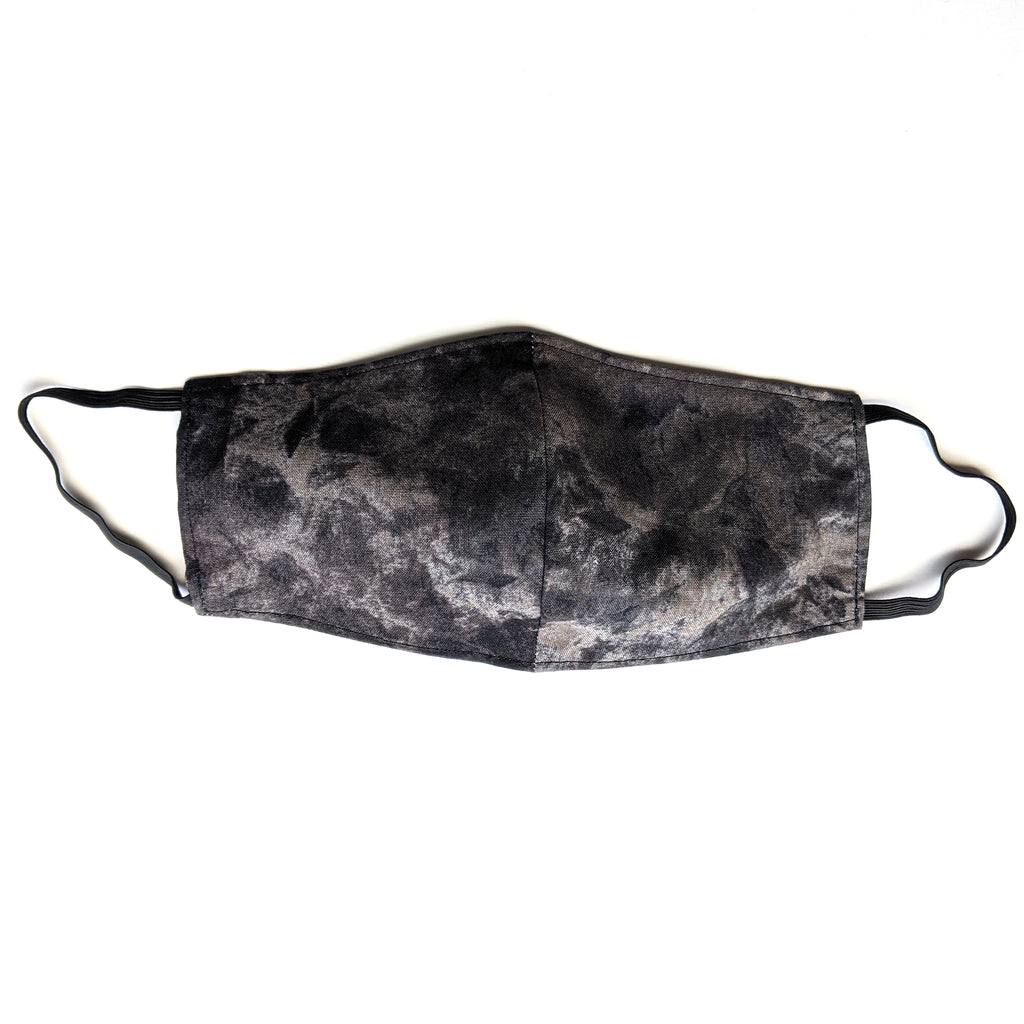 Black Marble :: Face Mask