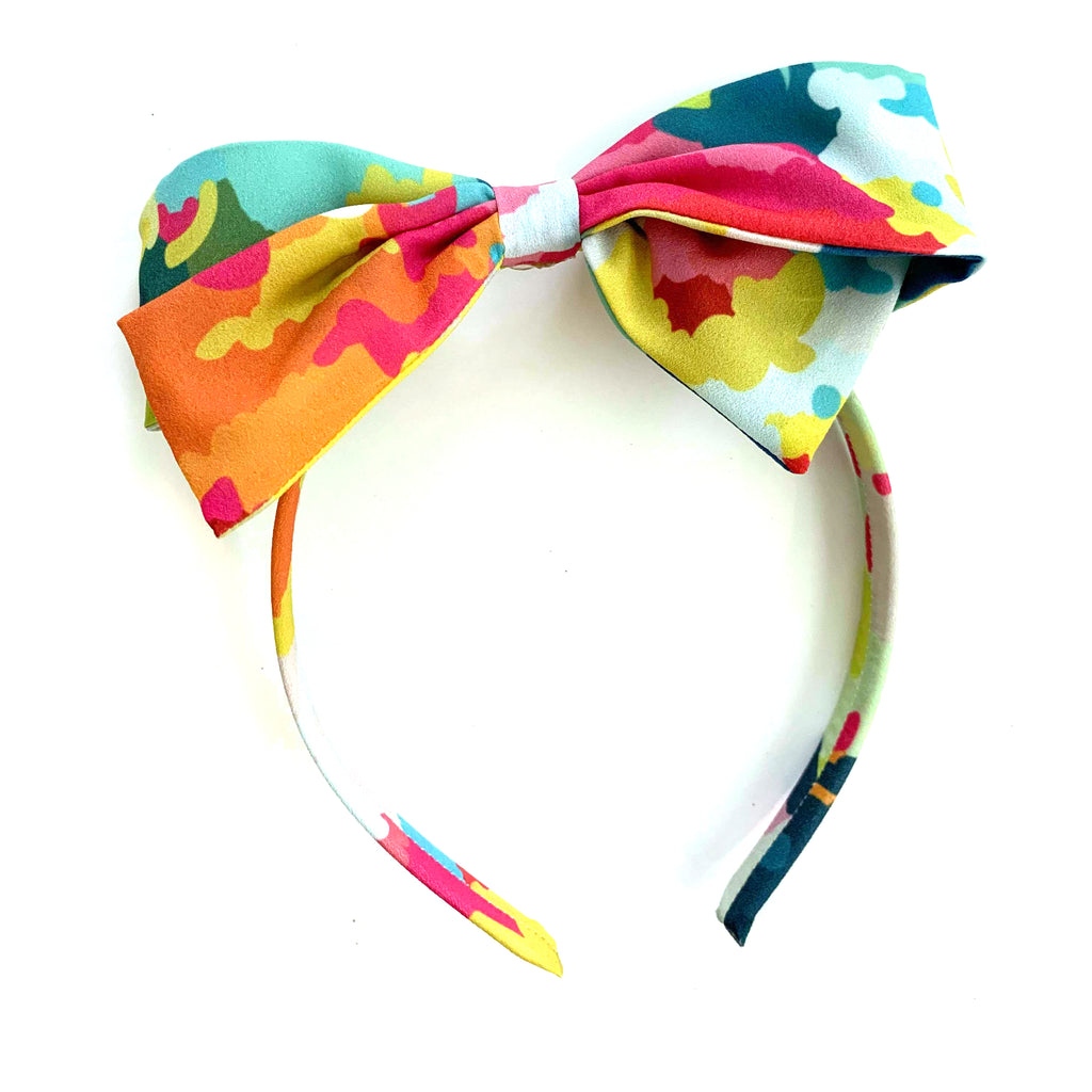 Candy Camo :: Big Girl Headband