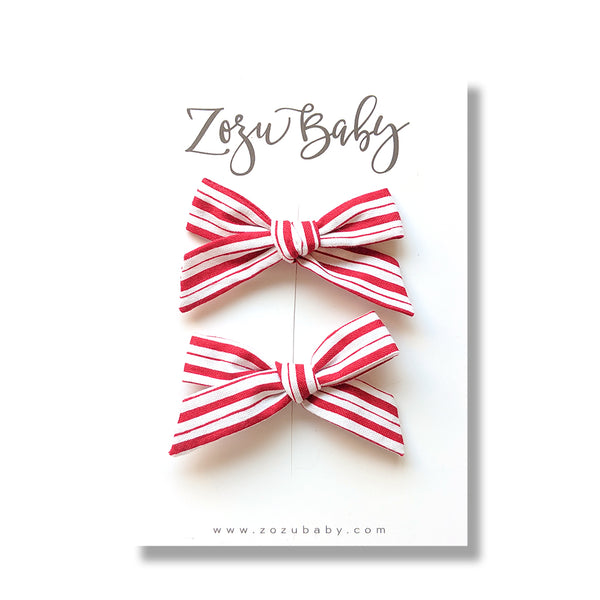 Candy Cane :: Mini Explorer Pigtail Set