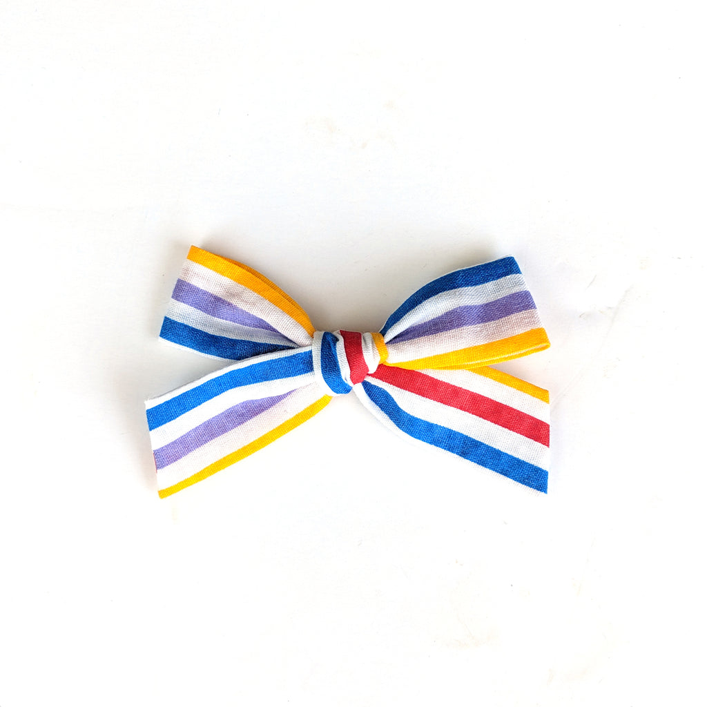 Carnival Stripe :: Explorer Bow