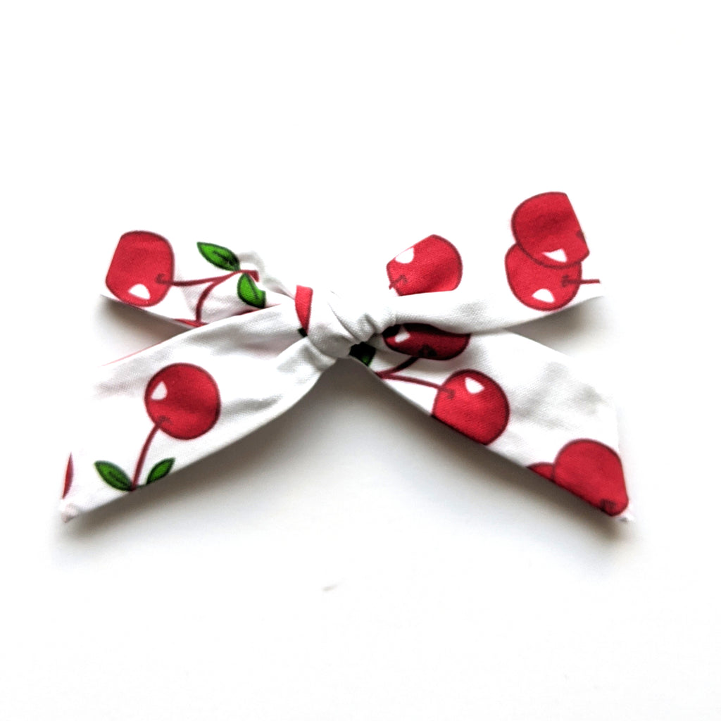 Cherries :: Oversized Explorer Bow