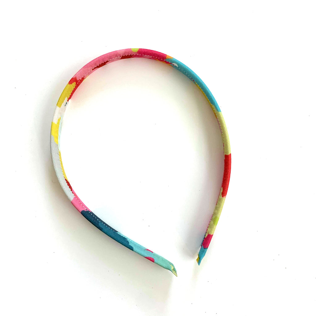 Candy Camo Band:: Big Girl Headband
