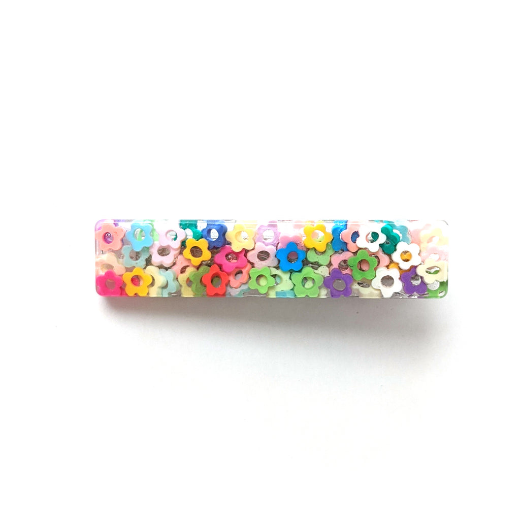 Colorful Daisys :: Resin Clip