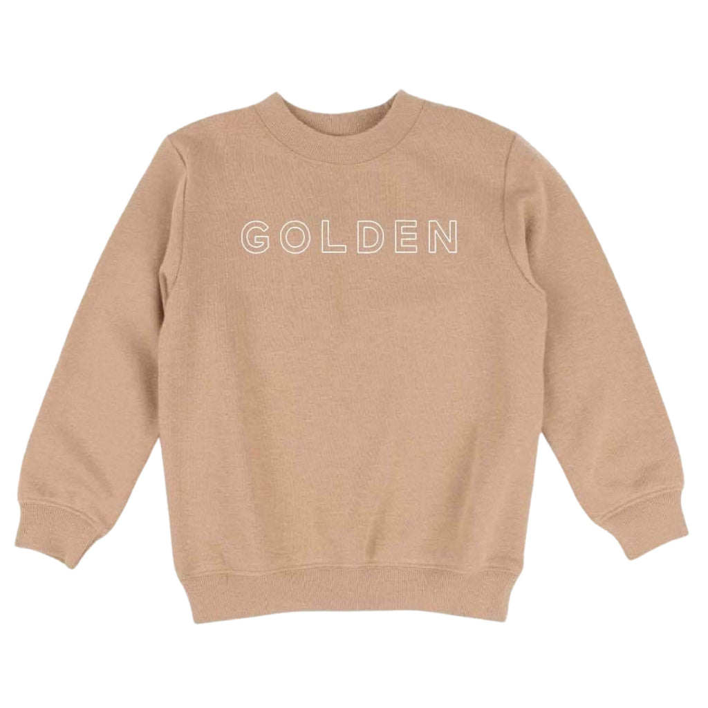 GOLDEN :: Kids Pullover