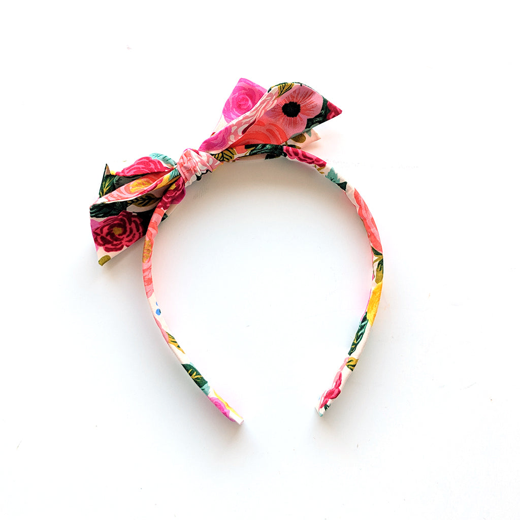 English Garden :: Big Girl Headband