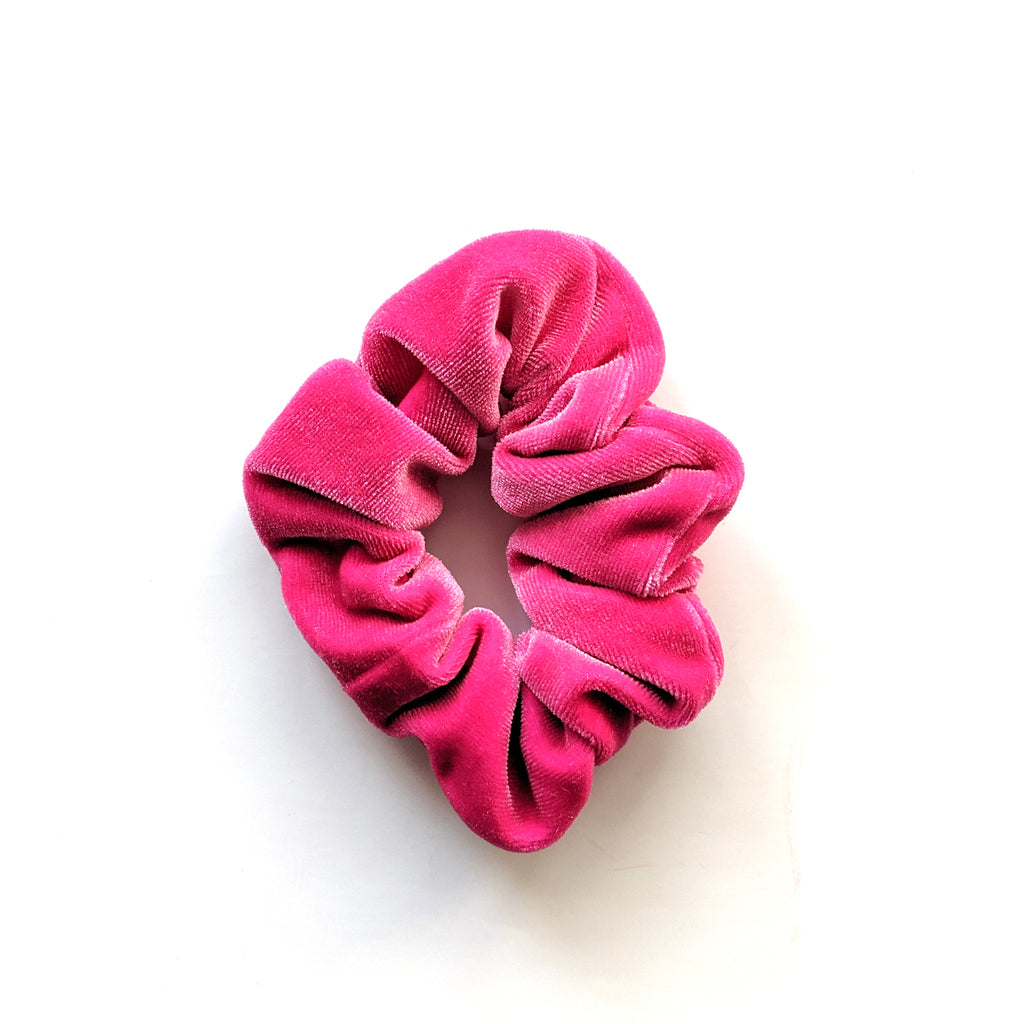 Flamingo :: Velvet Scrunchie
