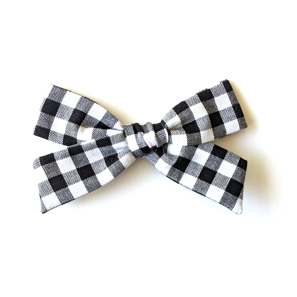 Gingham :: Explorer Bow