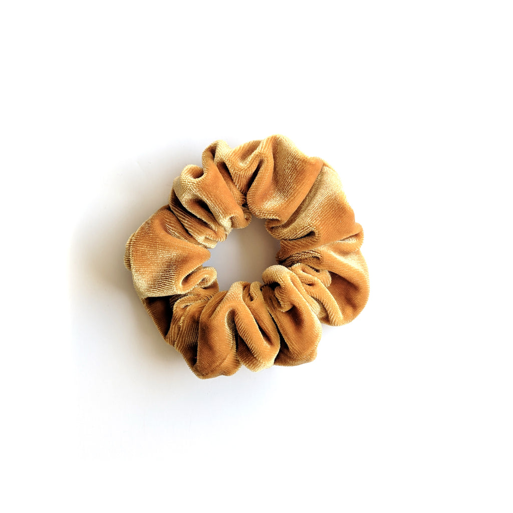 Gold :: Velvet Scrunchie