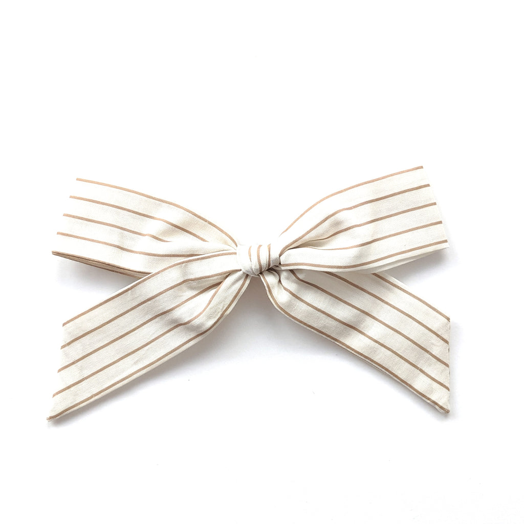 Golden Stripe :: Oversized Explorer Bow