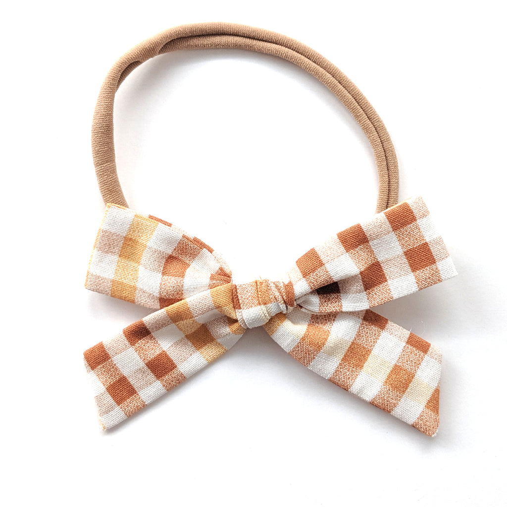 Harvest Plaid :: Explorer Bow