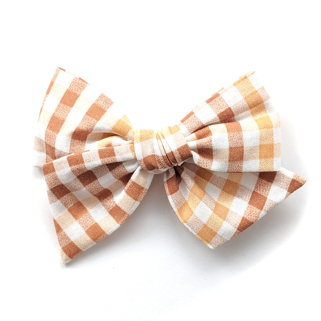 Harvest Plaid :: Voyager Bow