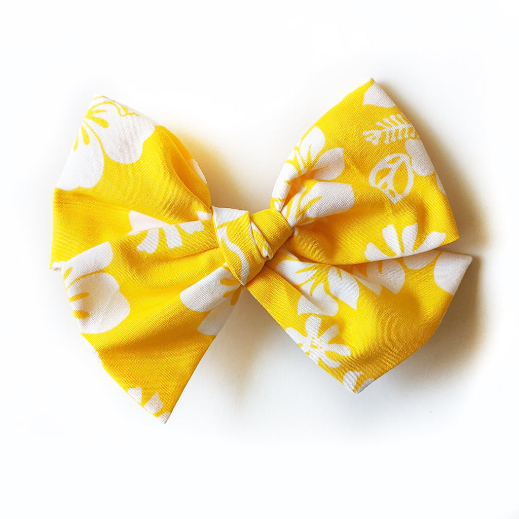 Hibiscus Floral :: Voyager Bow