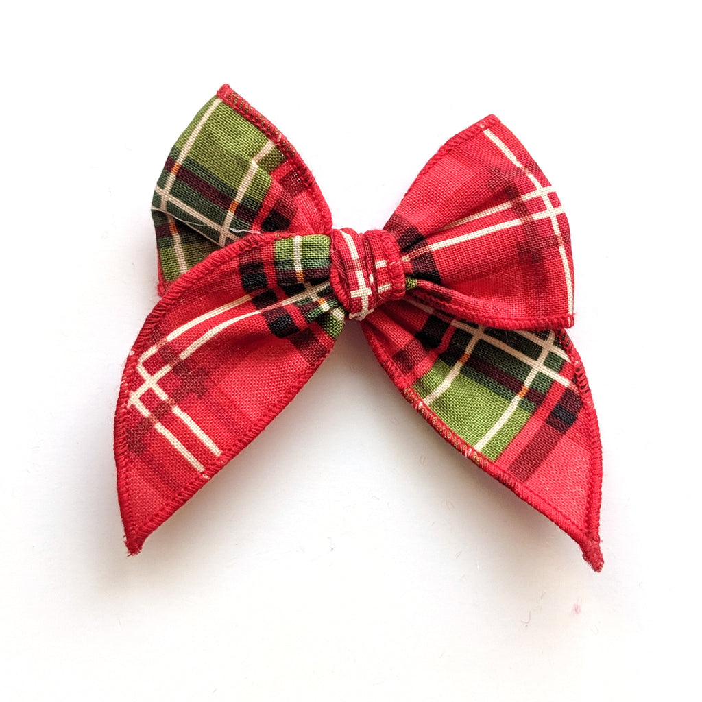 Holiday Plaid :: Mini Traveler