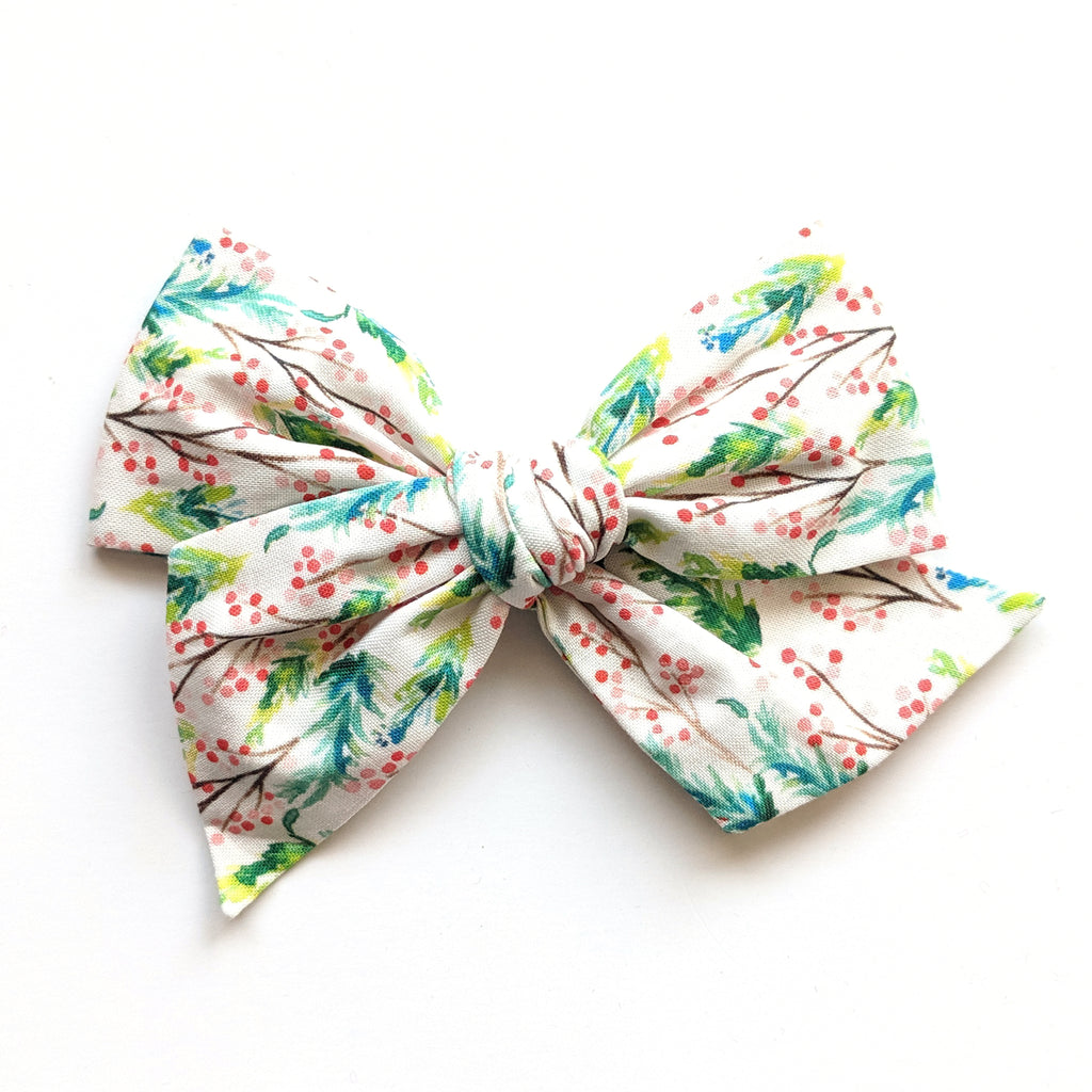 Christmas Holly :: Voyager Bow