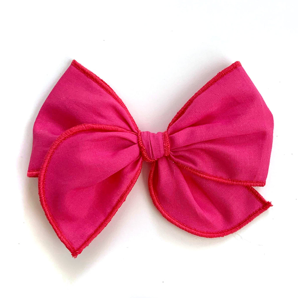 Hot Pink :: Wayfarer Bow