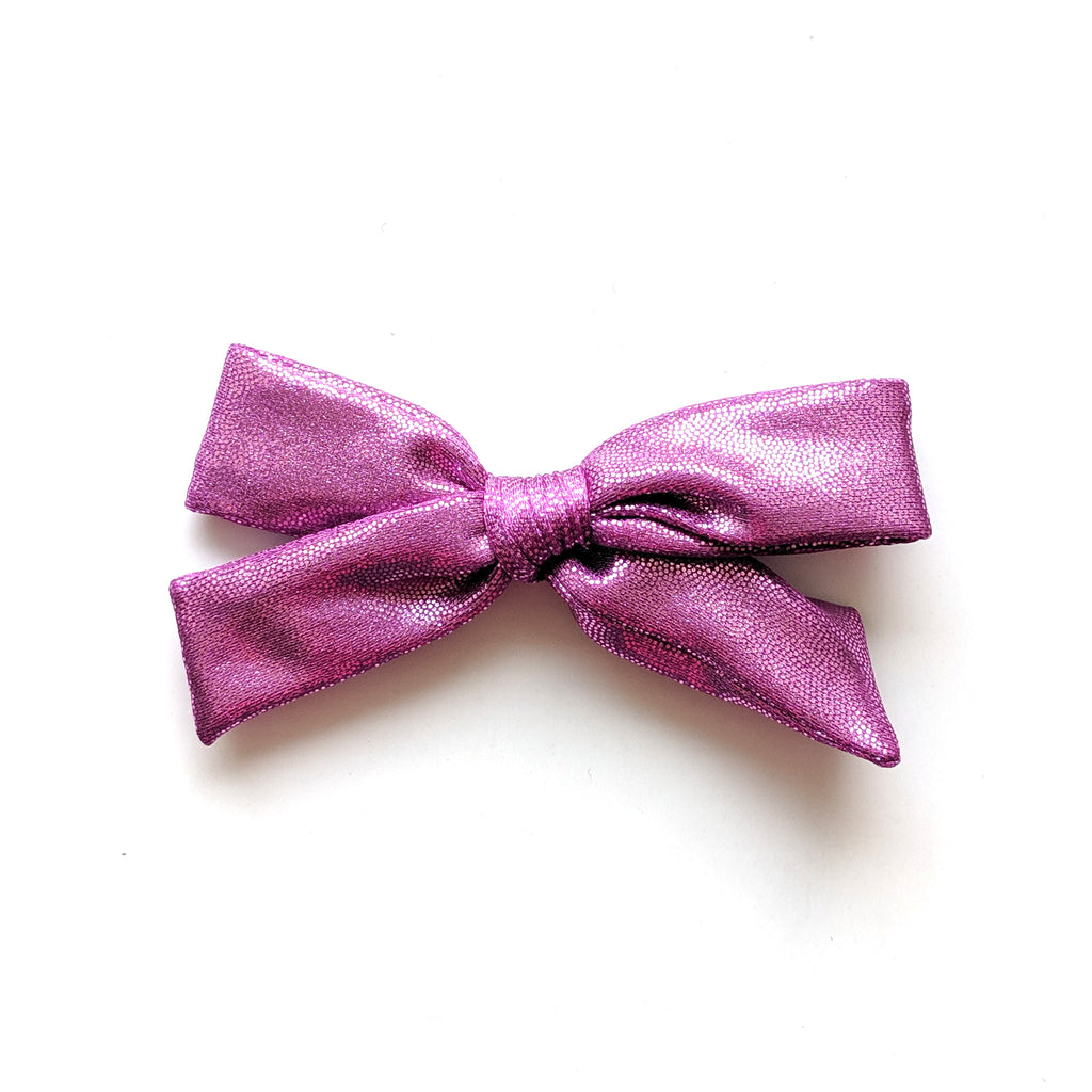 Hot Purple :: Explorer Swim Bow