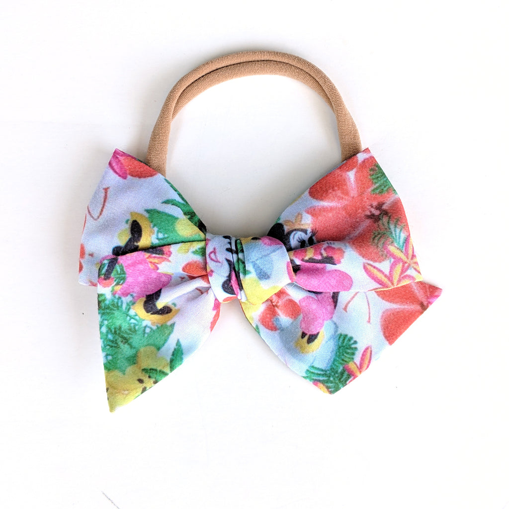 Hula Minnie :: Voyager Bow