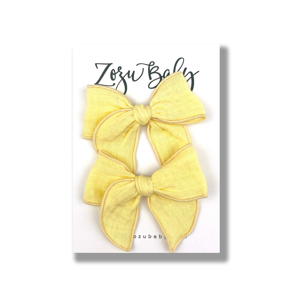 Yellow Gauze :: Mini Traveler Pigtail Set