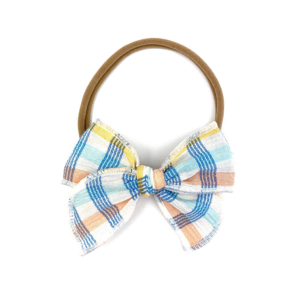 Easter Plaid :: Mini Traveler