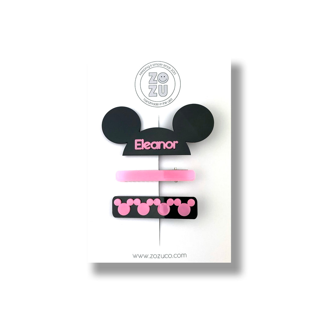 ***PRE-ORDER*** Mouseketeer Custom Name :: Clip Set