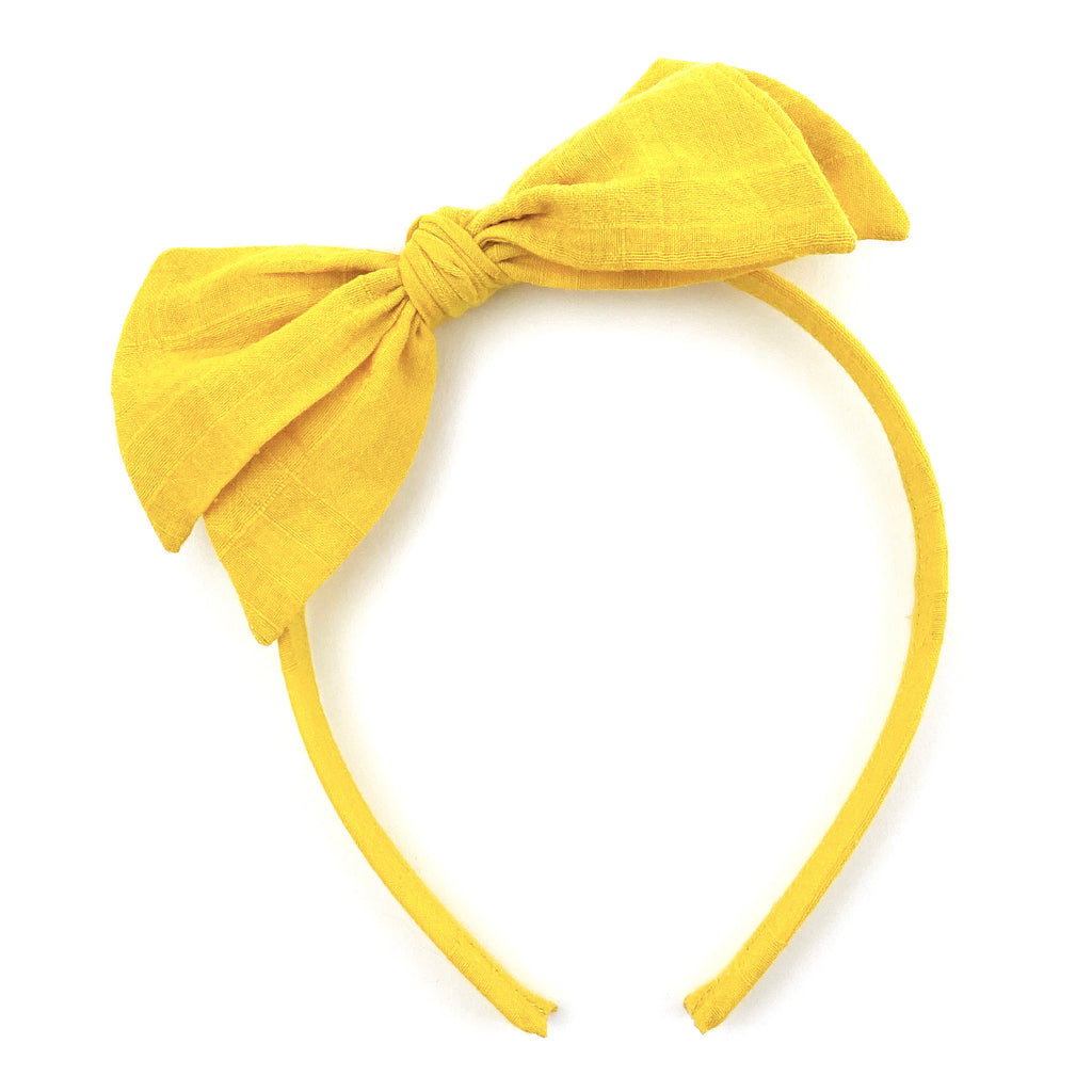 Sunflower Yellow :: Big Girl Headband
