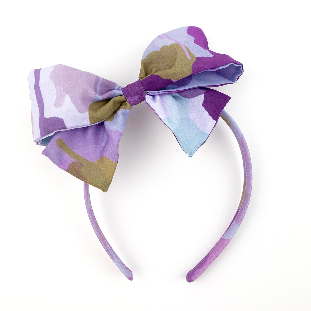 Candy Kirby Camo :: Big Girl Headband