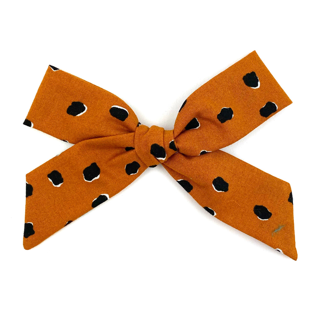 Rust Speckle :: Oversized Explorer Bow