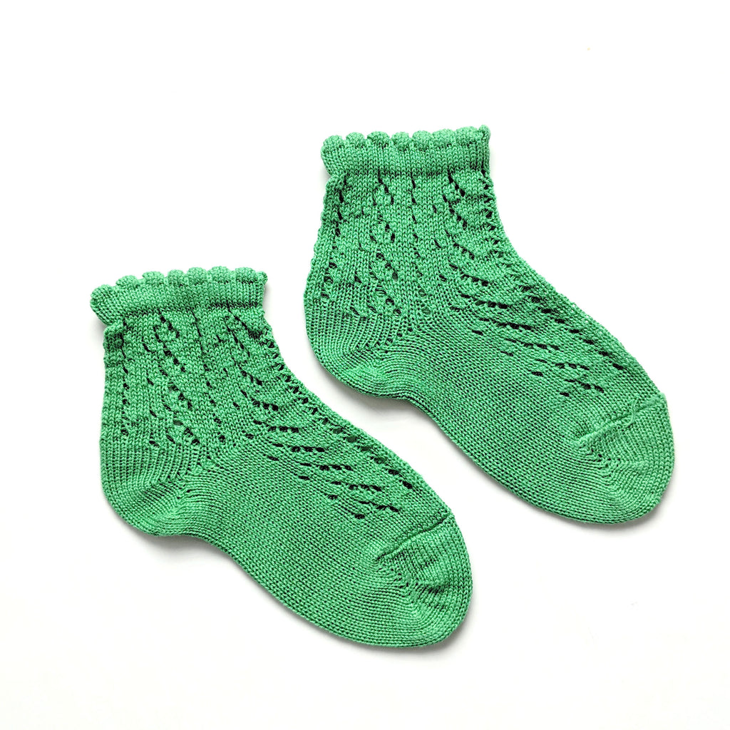 Kelley Green :: Crochet :: Condor Ankle Socks