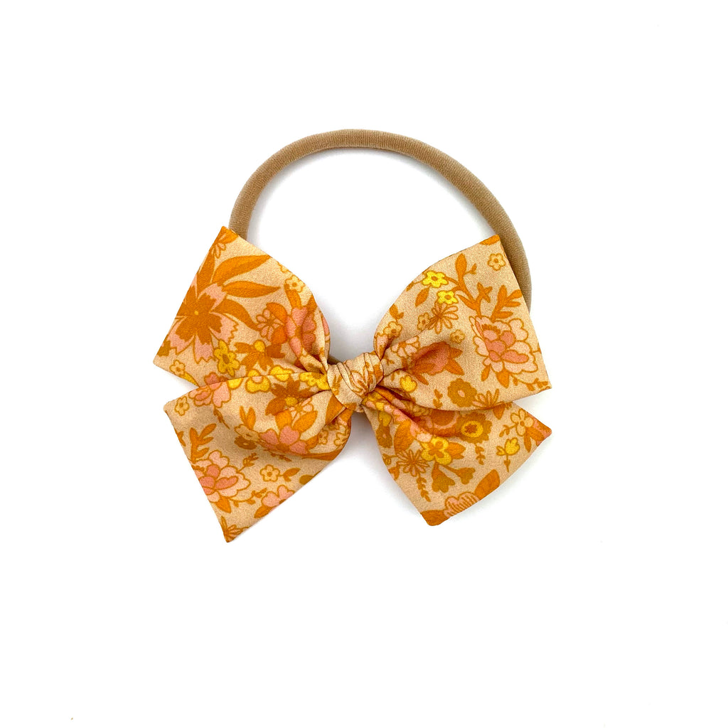 Harvest Floral :: Mini Voyager Bow
