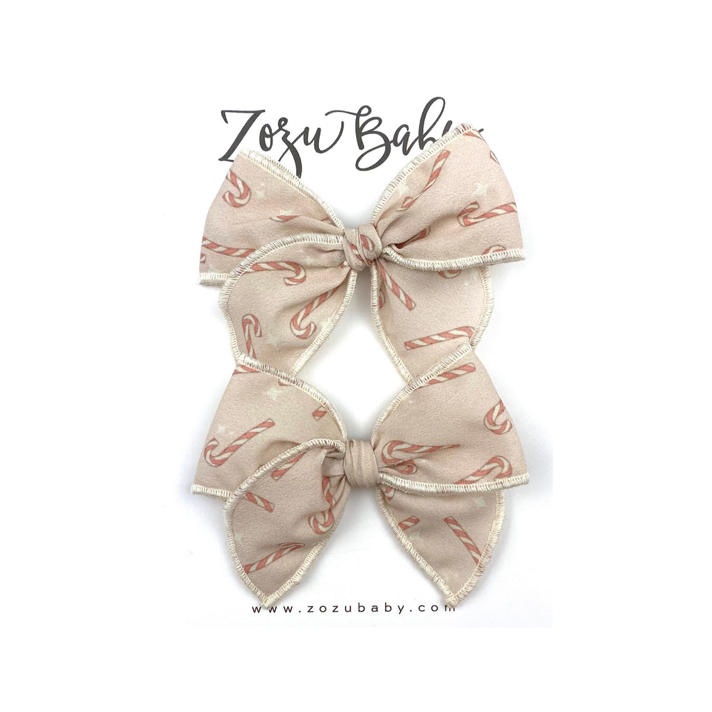 ***PRE-ORDER*** Candy Canes :: Mini Traveler Pigtail Set