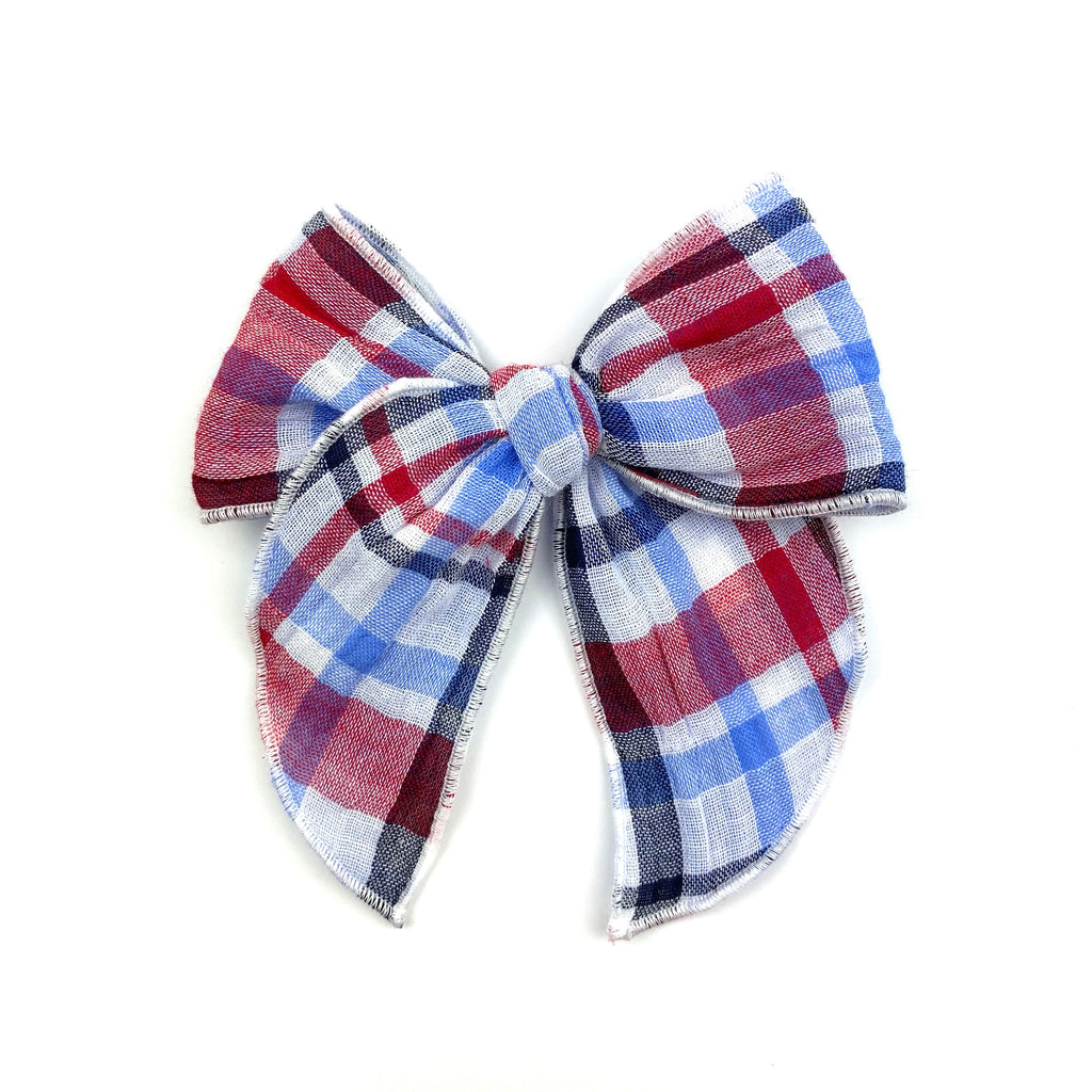 Patriotic Plaid :: Traveler