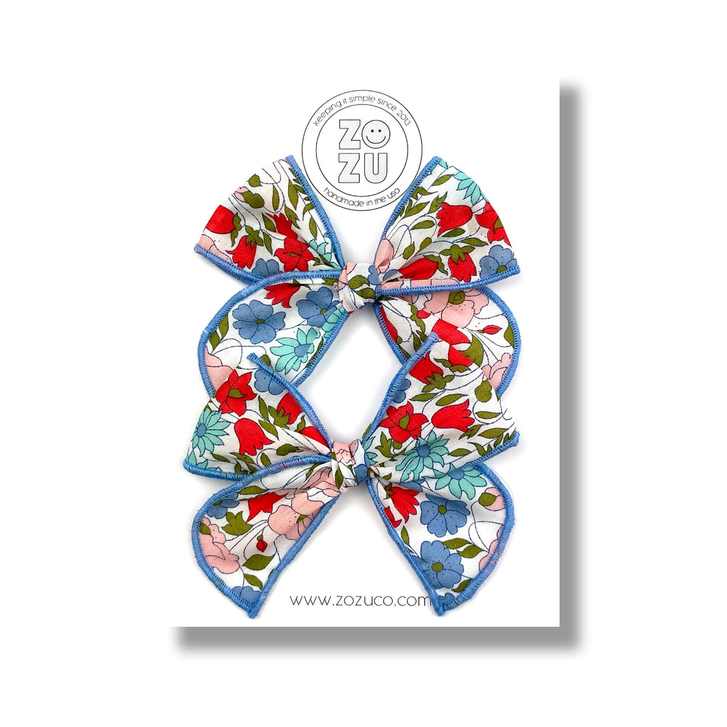 ***PRE-ORDER*** Fourth Floral :: Mini Traveler Pigtail Set