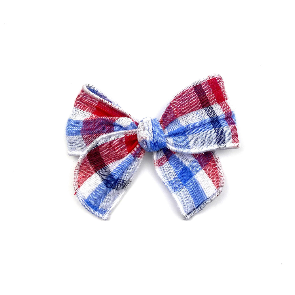 Patriotic Plaid :: Mini Traveler