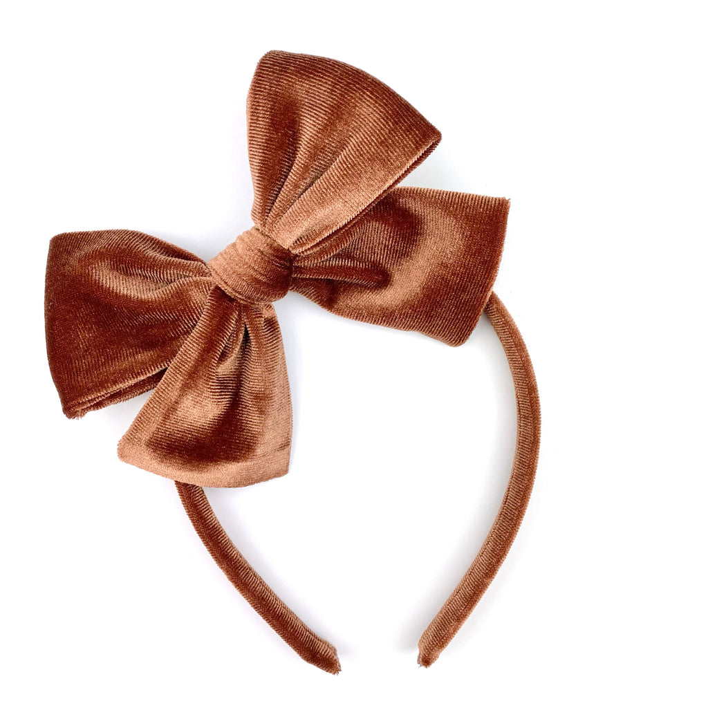 Chocolate Velvet :: Big Girl Headband