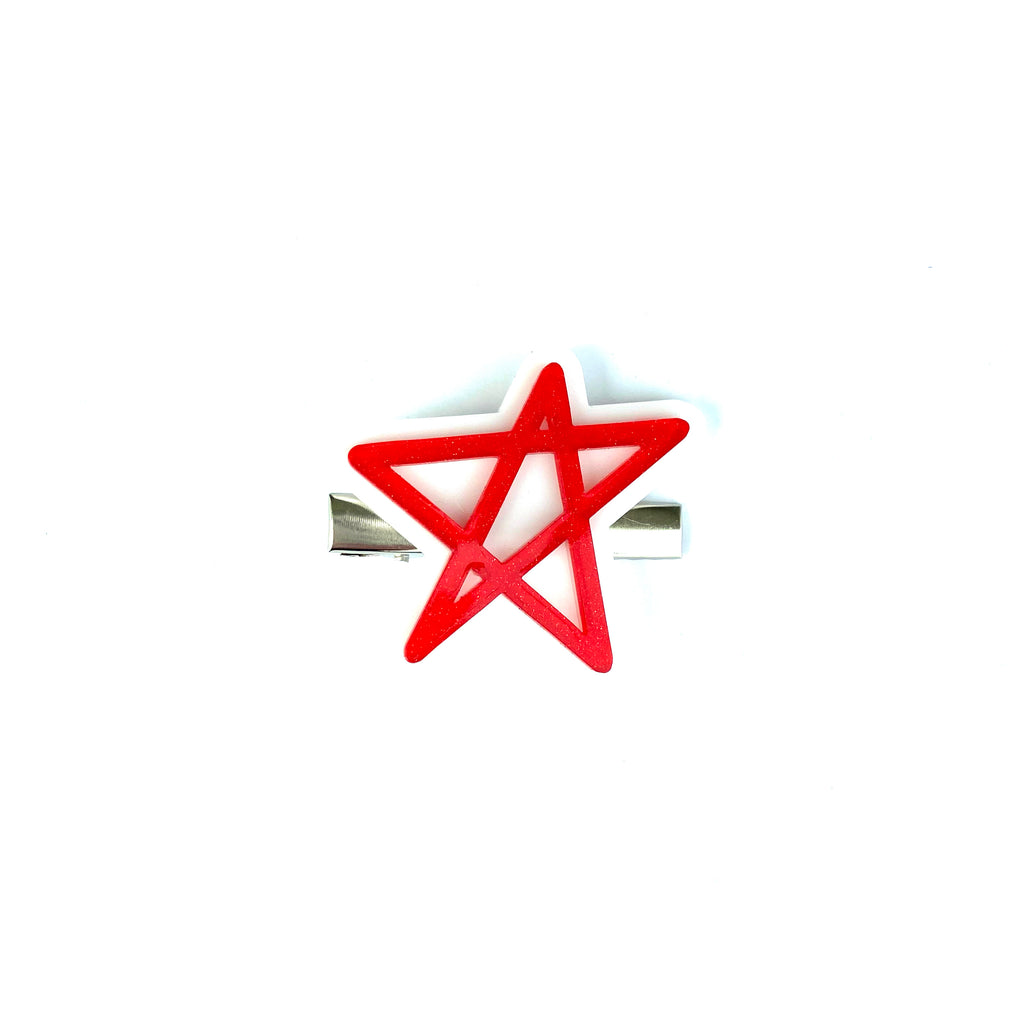 ***PRE-ORDER*** Red Star :: Acrylic Clip