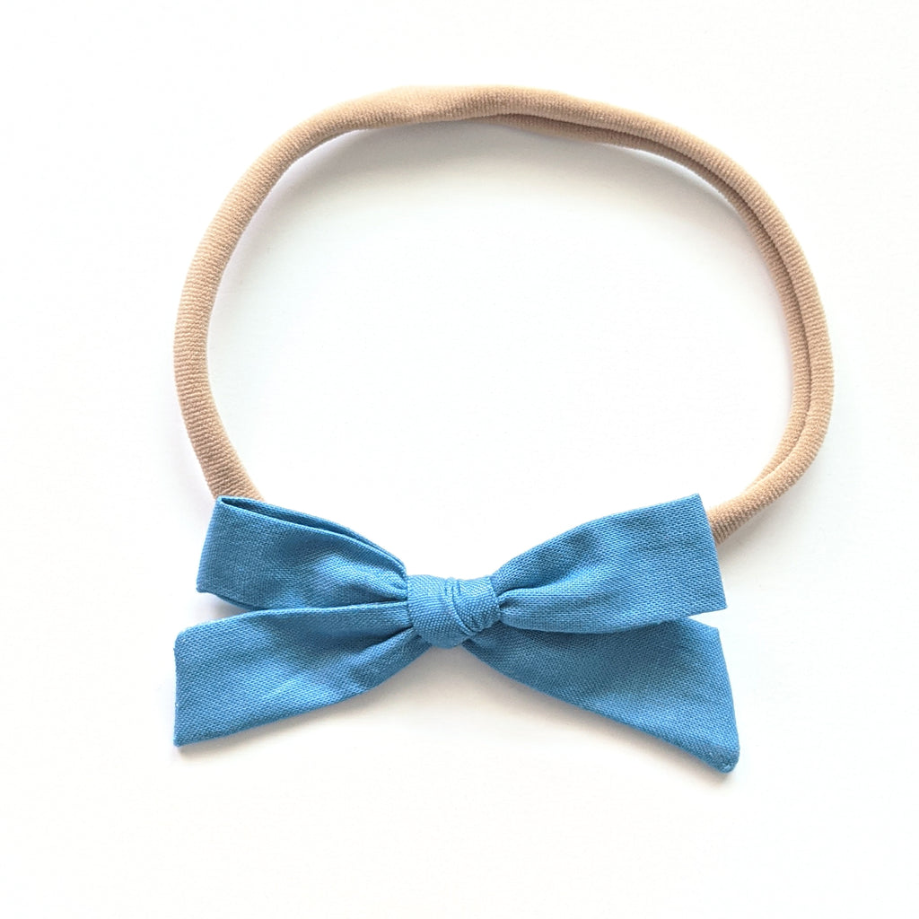 Ocean Blue :: January '20 :: Mini Explorer Bow