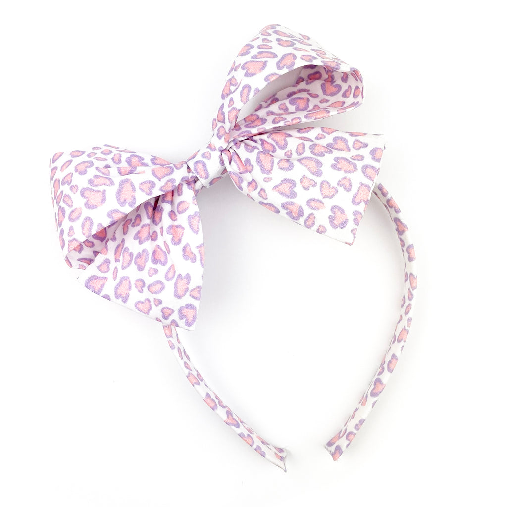 Lovely Leopard :: Big Girl Headband