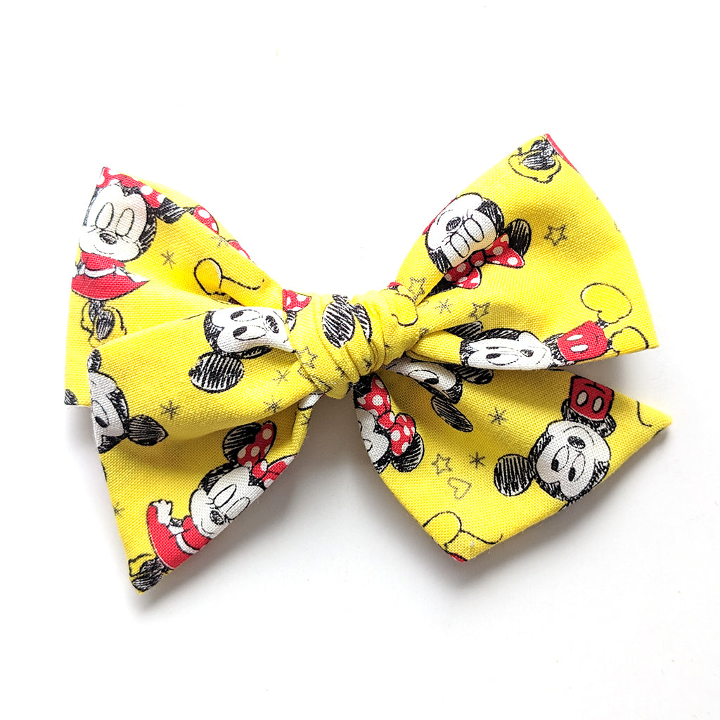 Mickey and Minnie :: Voyager Bow