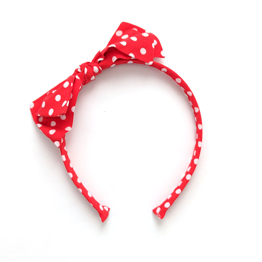 Minnie :: Big Girl Headband