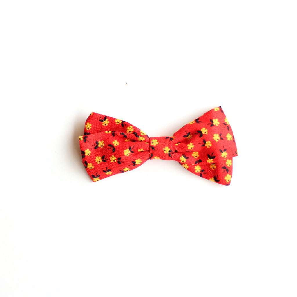 Mini Floral :: Petite Zoey Bow
